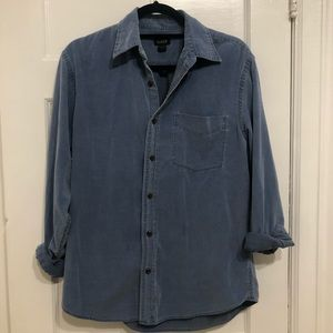 J. Crew Corduroy Button Down Shirt